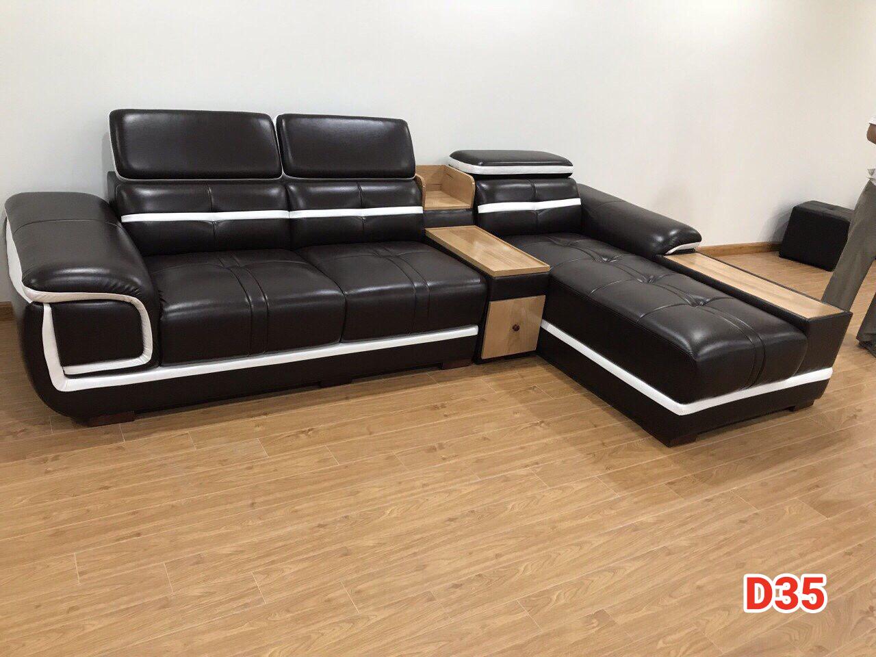 Ghế sofa da D35