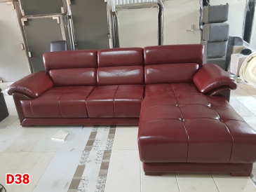 Ghế sofa da D38