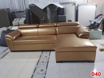Ghế sofa da D40