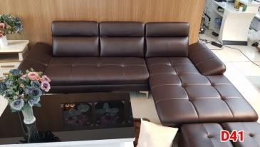 Ghế sofa da D41