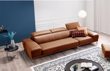 Ghế sofa da D42