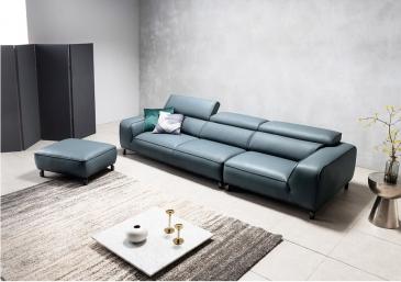 Ghế sofa da D45