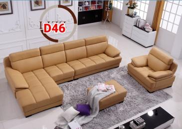 Ghế sofa da D46
