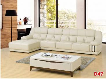 Ghế sofa da D47