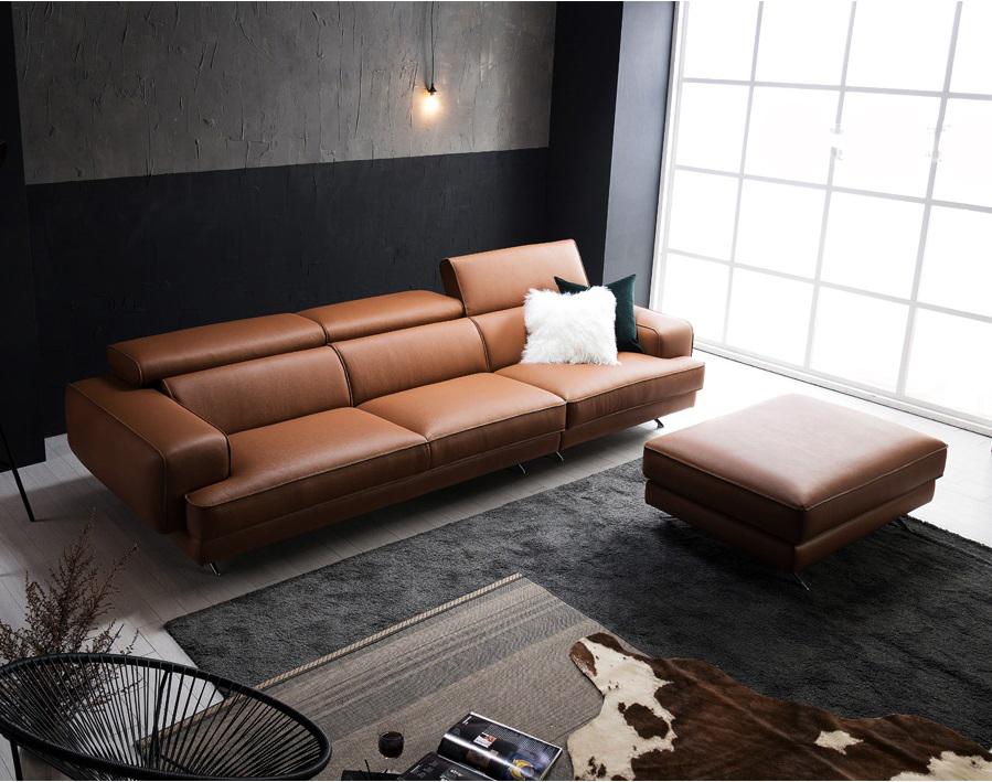 Ghế sofa da D48