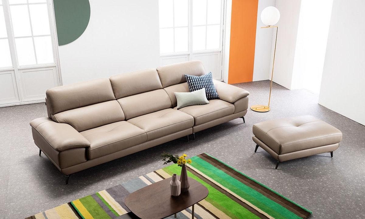 Ghế sofa da D51