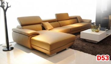 Ghế sofa da D53