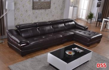 Ghế sofa da D55