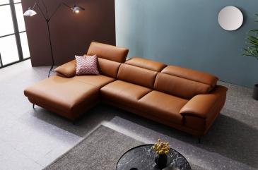 Ghế sofa da D56