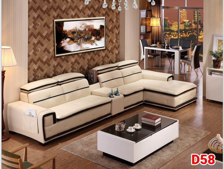 Ghế sofa da D58