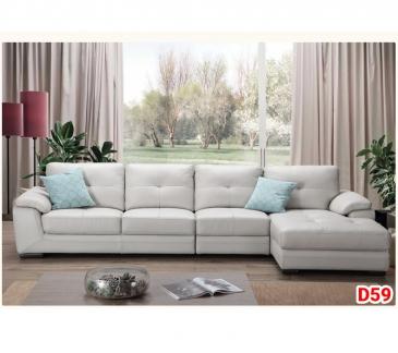 Ghế sofa da D59