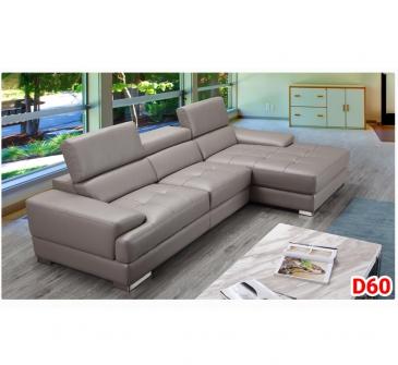 Ghế sofa da D60
