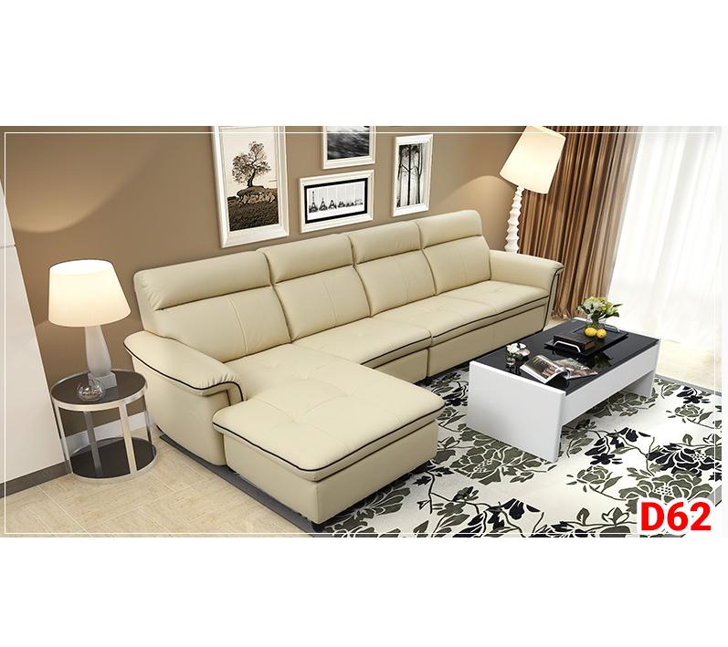 Ghế sofa da D62