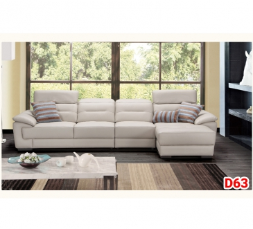 Ghế sofa da D63