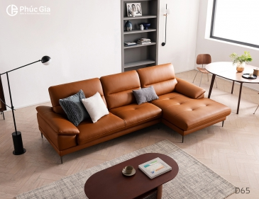 Ghế sofa da D65
