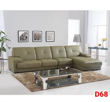 Ghế sofa da D68