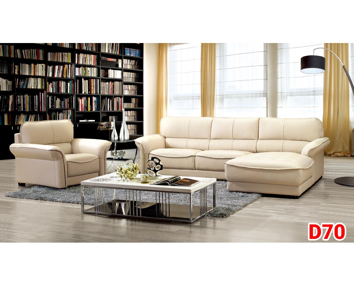 Ghế sofa da D70