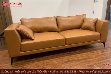 Ghế sofa da D75