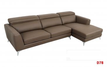 Ghế sofa da D78