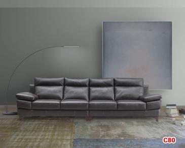 Ghế sofa da D80