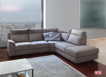 Ghế sofa da D82