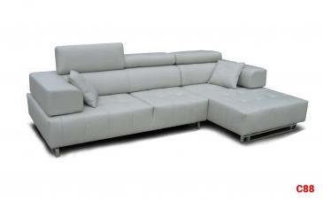 Ghế sofa da D88