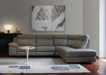Ghế sofa da D91