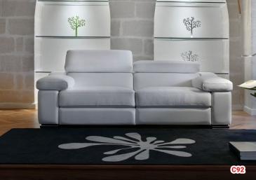 Ghế sofa da D92