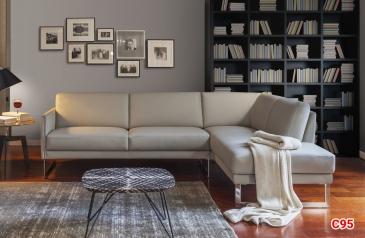 Ghế sofa da D95