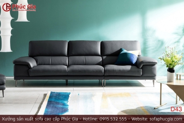 Ghế sofa da D43