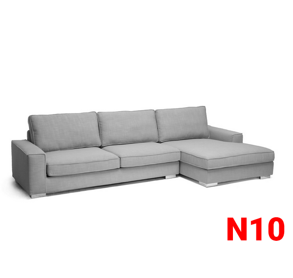 Ghế sofa nỉ N10