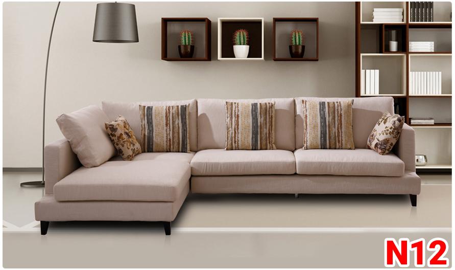Ghế sofa nỉ N12