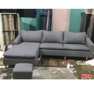 Ghế sofa nỉ N04