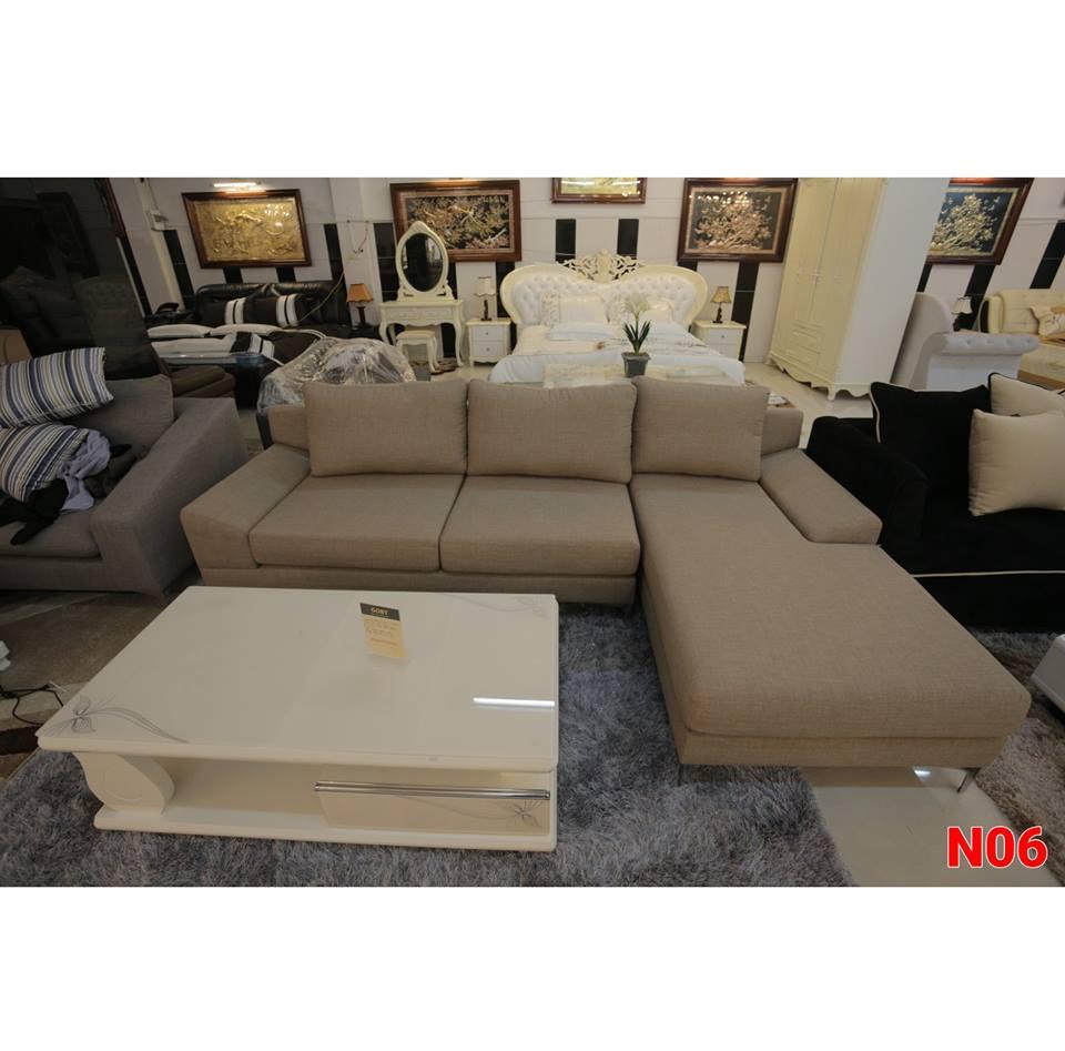Ghế sofa nỉ N06