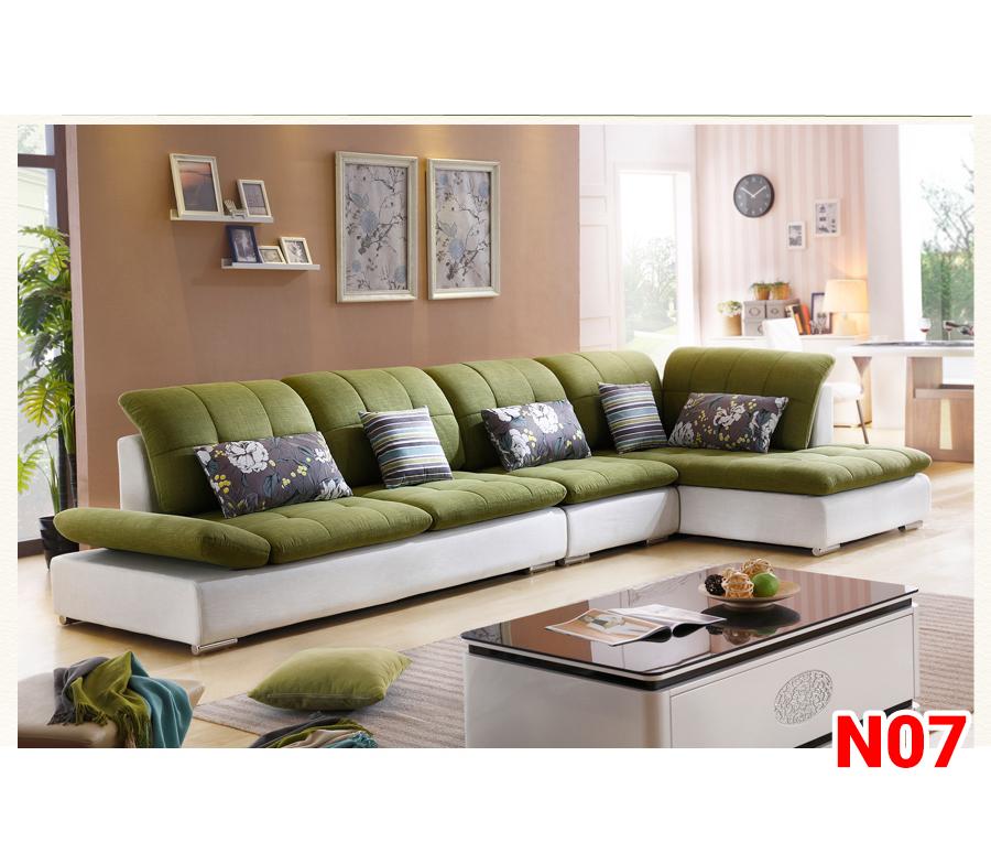 Ghế sofa nỉ N07