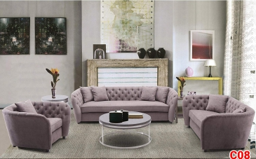 Ghế sofa tân cổ điển C08