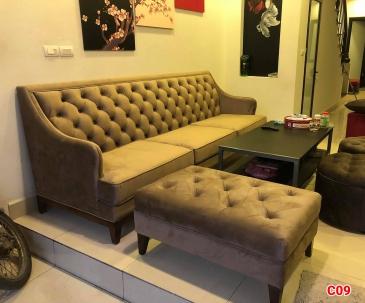Ghế sofa tân cổ điển C09
