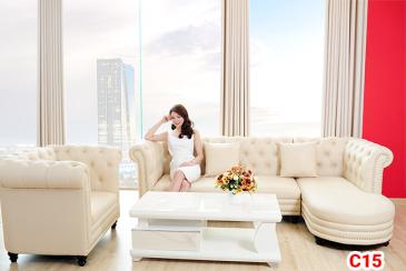 Ghế sofa tân cổ điển C15