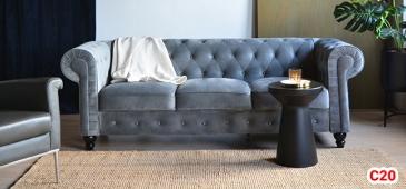 Ghế sofa tân cổ điển C20