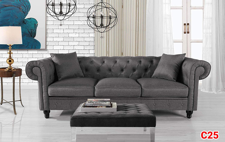 Ghế sofa tân cổ điển C25
