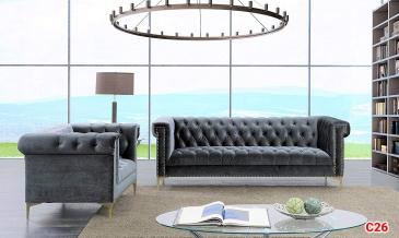 Ghế sofa tân cổ điển C26