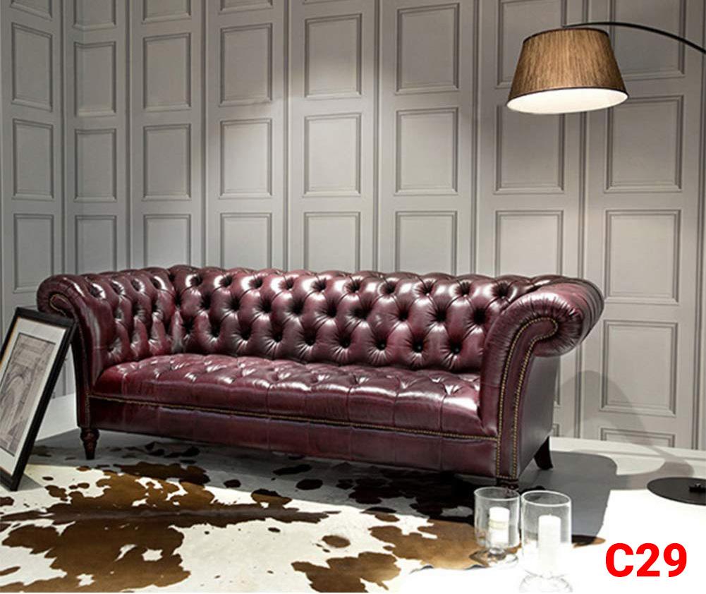 Ghế sofa tân cổ điển C29