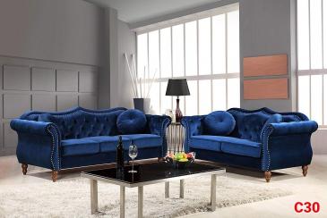Ghế sofa tân cổ điển C30