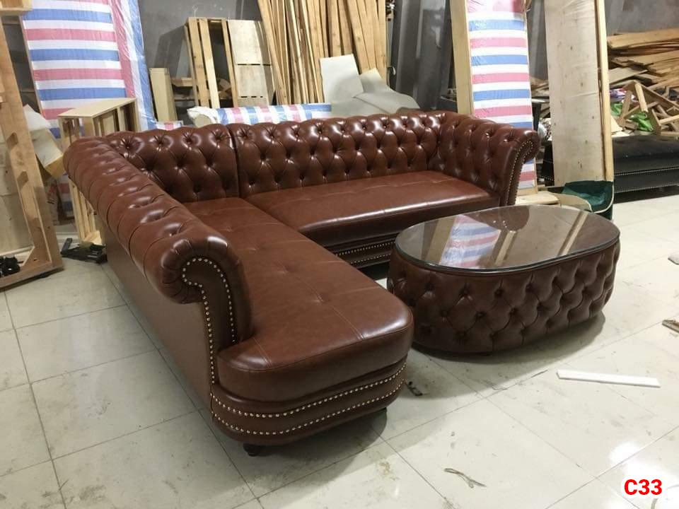 Ghế sofa tân cổ điển C33