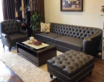 Ghế sofa tân cổ điển C01