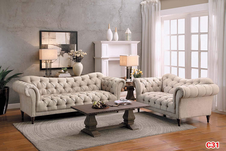 Ghế sofa tân cổ điển C31